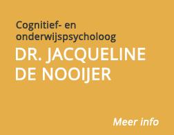Dr. Jacqueline de Nooijer