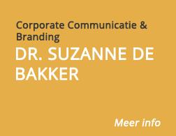 Dr. Suzanne de Bakker